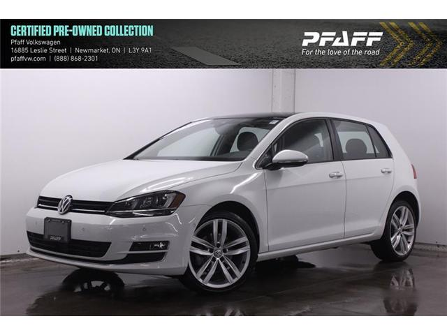 2017 Volkswagen Golf 1.8 TSI Highline (Stk: 19212) in Newmarket - Image 1 of 22