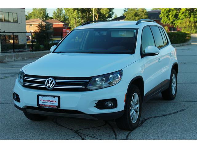 2014 Volkswagen Tiguan Trendline (Stk: 1806274) in Waterloo - Image 1 of 27