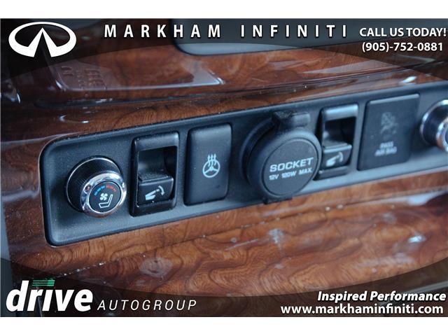 2017 Infiniti QX80  (Stk: J255A) in Markham - Image 17 of 29
