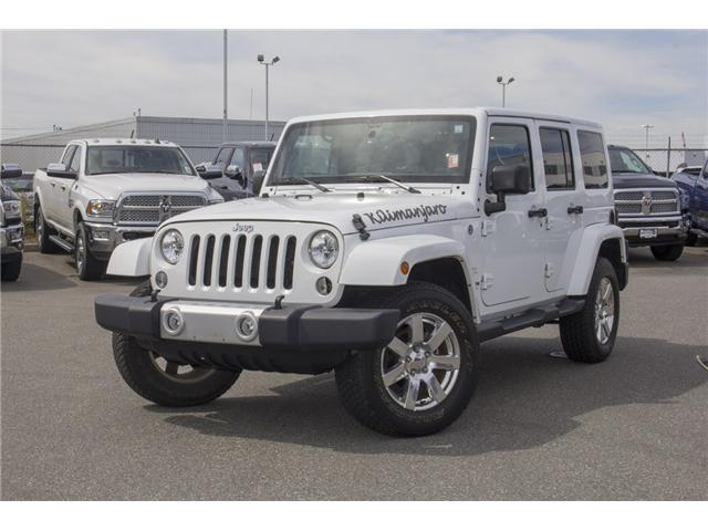 2015 Jeep Wrangler Unlimited Sahara (Stk: J863964A) in Surrey - Image 3 of 28