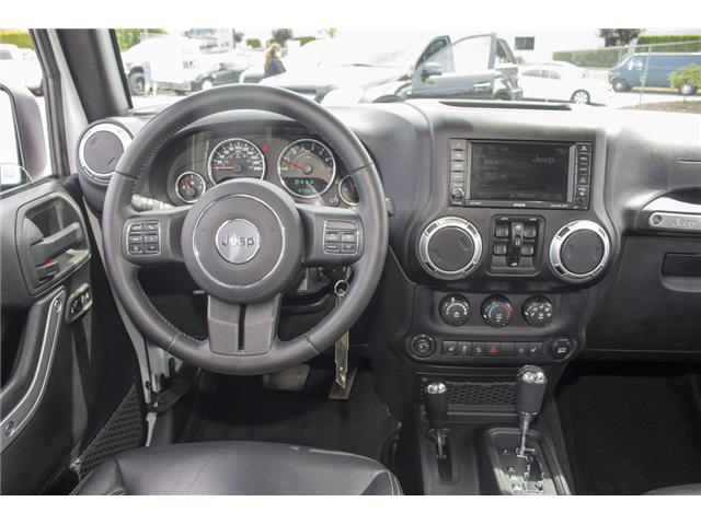 2015 Jeep Wrangler Unlimited Sahara (Stk: J863964A) in Surrey - Image 16 of 28