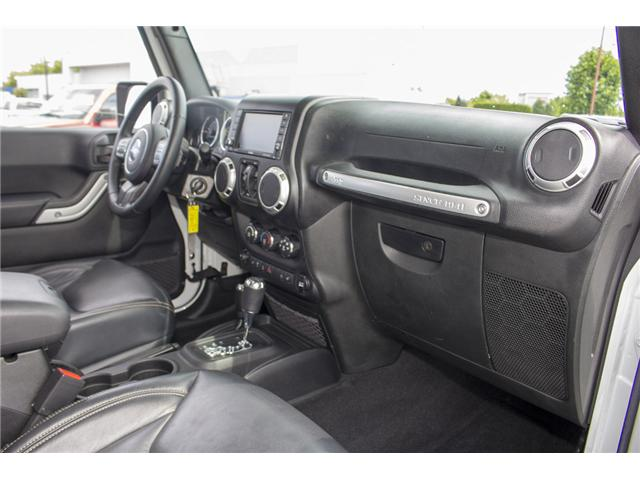 2015 Jeep Wrangler Unlimited Sahara (Stk: J863964A) in Surrey - Image 19 of 28