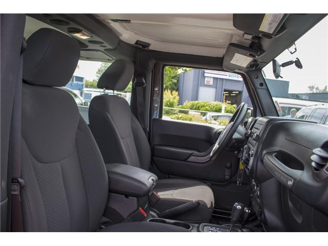 2017 Jeep Wrangler Sport (Stk: J203073A) in Surrey - Image 16 of 24
