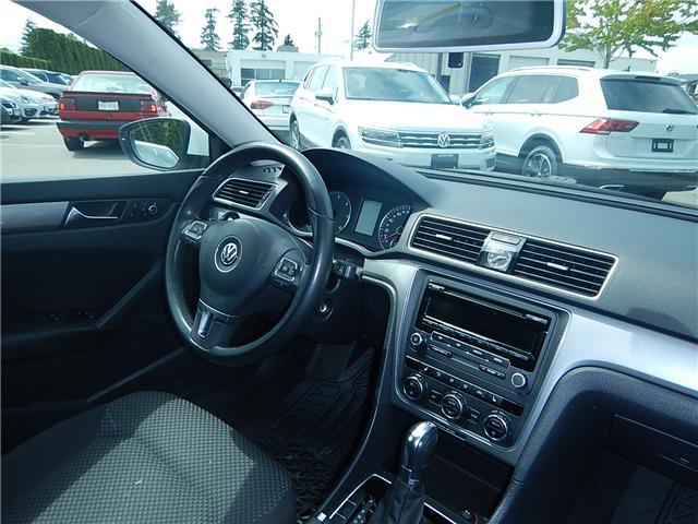 2012 Volkswagen Passat 2.0 TDI Trendline+ (Stk: VW0703A) in Surrey - Image 15 of 25