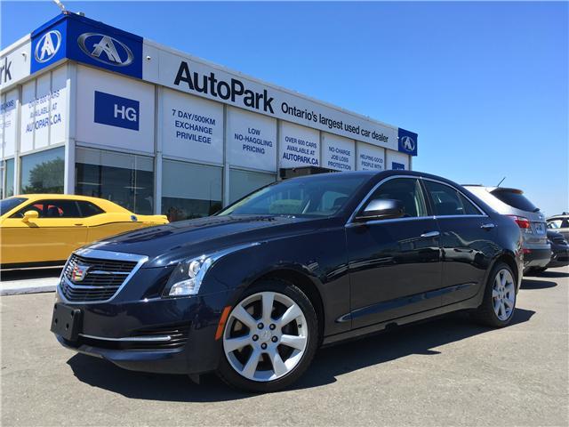 2015 Cadillac ATS  (Stk: 15-39914) in Brampton - Image 1 of 26