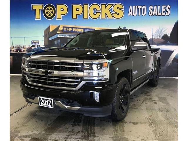 2017 Chevrolet Silverado 1500 High Country (Stk: 353979) in NORTH BAY - Image 1 of 18