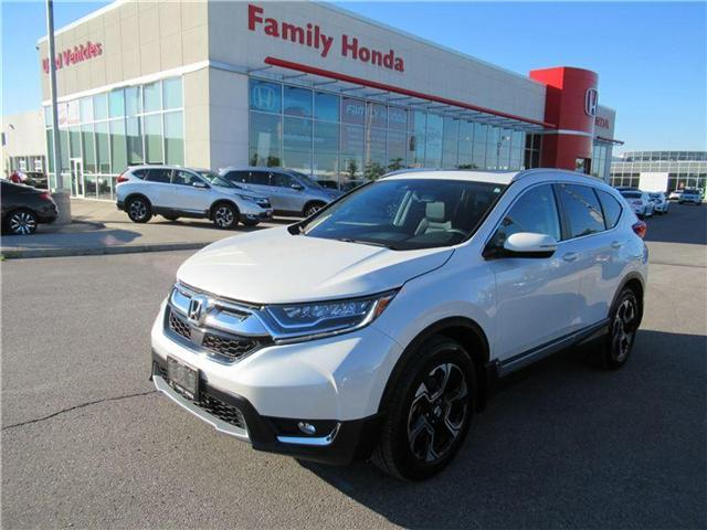 2017 Honda CR-V Touring, LIKE NEW! (Stk: 8504324A) in Brampton - Image 1 of 27