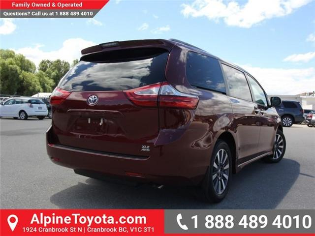 2018 Toyota Sienna  (Stk: S201604) in Cranbrook - Image 5 of 18