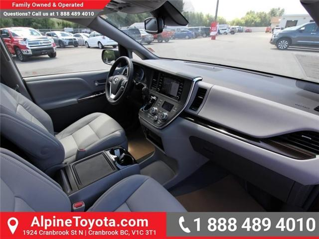 2018 Toyota Sienna  (Stk: S201604) in Cranbrook - Image 11 of 18