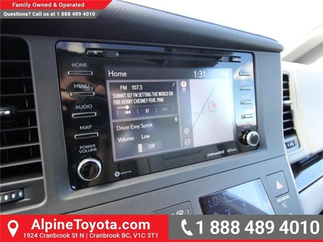 2018 Toyota Sienna  (Stk: S201604) in Cranbrook - Image 13 of 18