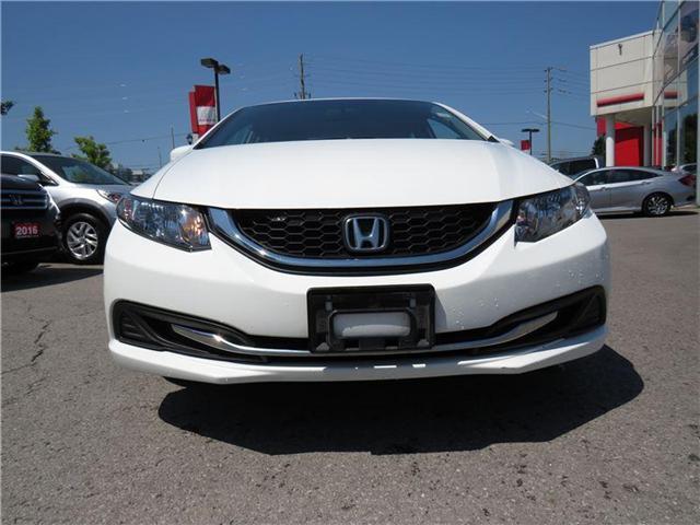 2014 Honda Civic LX (Stk: 180798P) in Richmond Hill - Image 2 of 12