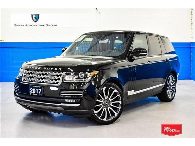 2017 Land Rover Range Rover 5.0L V8 Supercharged Autobiography (Stk: P1016) in Aurora - Image 1 of 21