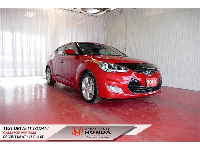 2013 Hyundai Veloster  (Stk: H5989A) in Sault Ste. Marie - Image 1 of 22