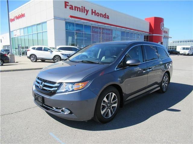 2017 Honda Odyssey Touring, WELL MAINTAINED! (Stk: 9500295A) in Brampton - Image 1 of 30
