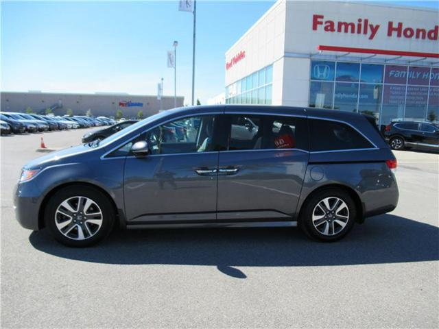 2017 Honda Odyssey Touring, WELL MAINTAINED! (Stk: 9500295A) in Brampton - Image 2 of 30