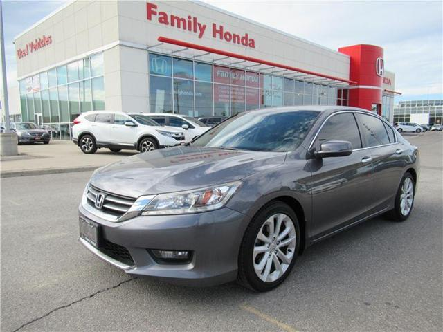 2014 Honda Accord Touring, FREE EXTENDED WARRANTY! (Stk: U03231A) in Brampton - Image 1 of 27