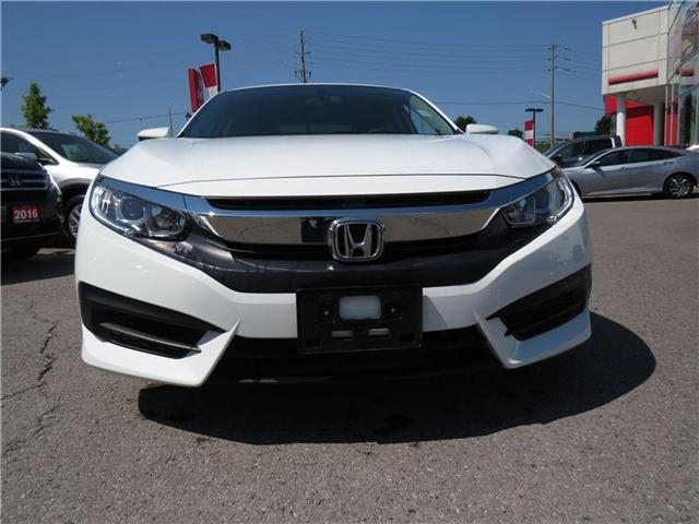 2016 Honda Civic LX (Stk: 180346A) in Richmond Hill - Image 2 of 12