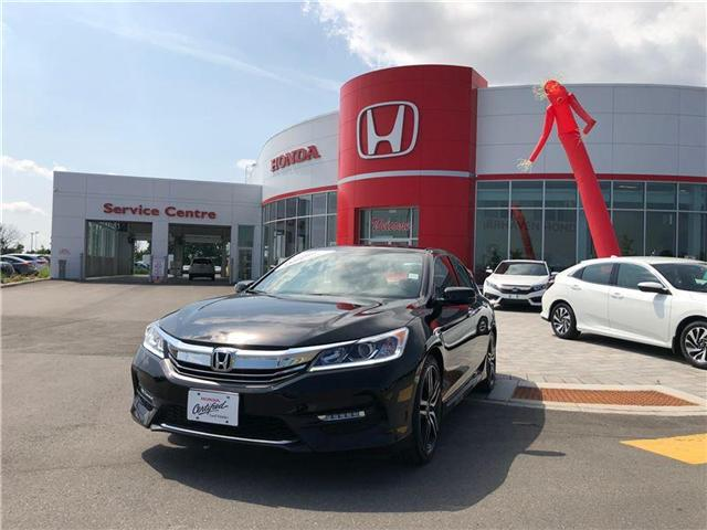 2017 Honda Accord Sport (Stk: 0668A) in Nepean - Image 2 of 20