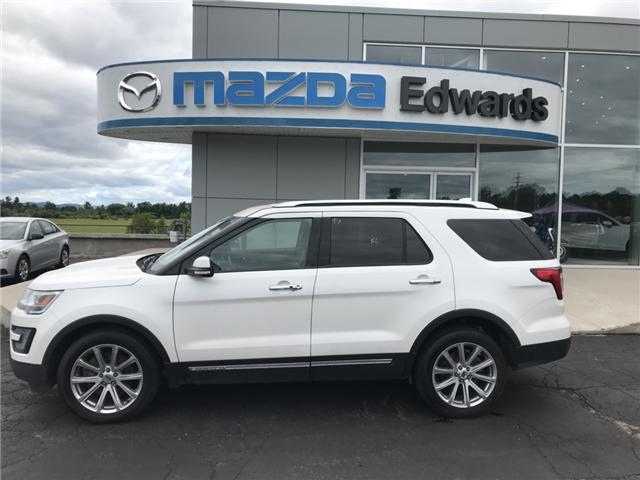 2016 Ford Explorer Limited (Stk: 21232) in Pembroke - Image 1 of 13