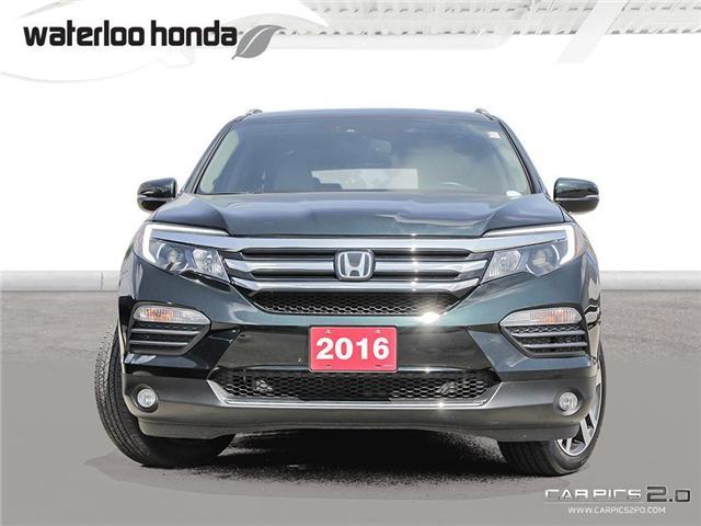 2016 Honda Pilot Touring (Stk: U4115) in Waterloo - Image 2 of 28