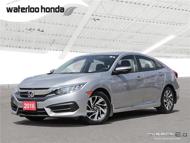 2016 Honda Civic EX (Stk: U4099) in Waterloo - Image 1 of 28