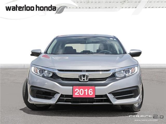 2016 Honda Civic EX (Stk: U4099) in Waterloo - Image 2 of 28