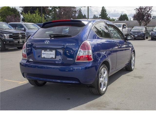 2009 Hyundai Accent GL Sport (Stk: 8EC6722B) in Surrey - Image 7 of 22