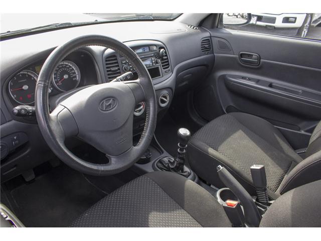 2009 Hyundai Accent GL Sport (Stk: 8EC6722B) in Surrey - Image 11 of 22