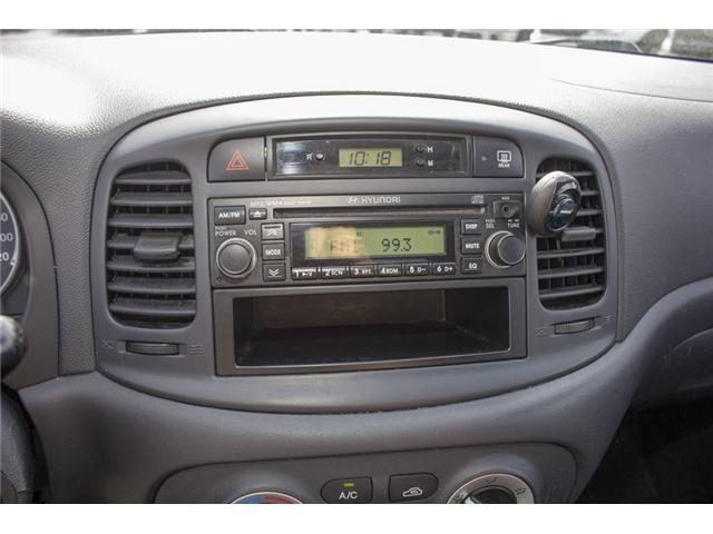 2009 Hyundai Accent GL Sport (Stk: 8EC6722B) in Surrey - Image 18 of 22