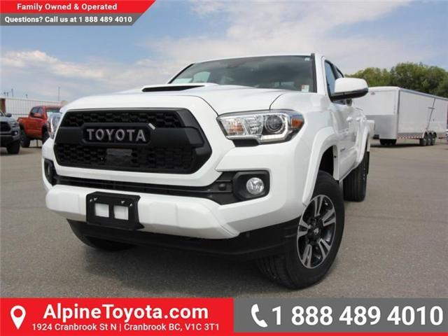 2018 Toyota Tacoma TRD Sport (Stk: X151317) in Cranbrook - Image 1 of 18