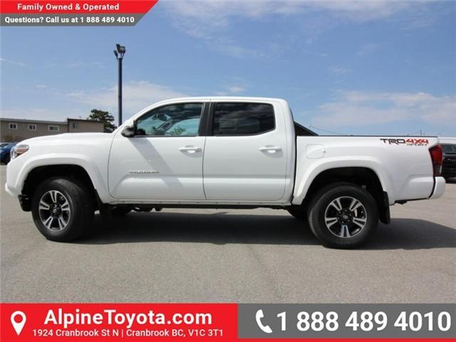 2018 Toyota Tacoma TRD Sport (Stk: X151317) in Cranbrook - Image 2 of 18