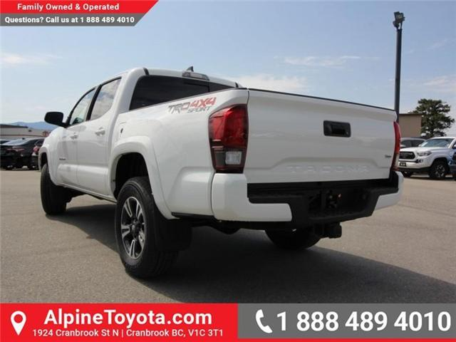 2018 Toyota Tacoma TRD Sport (Stk: X151317) in Cranbrook - Image 3 of 18