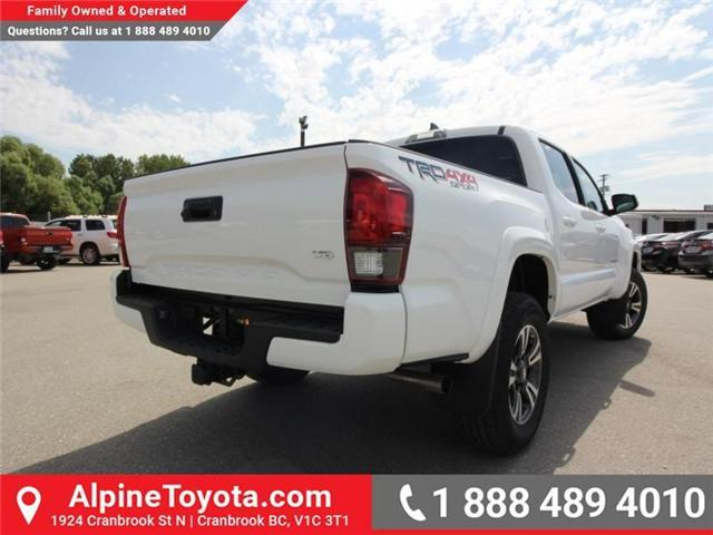 2018 Toyota Tacoma TRD Sport (Stk: X151317) in Cranbrook - Image 4 of 18