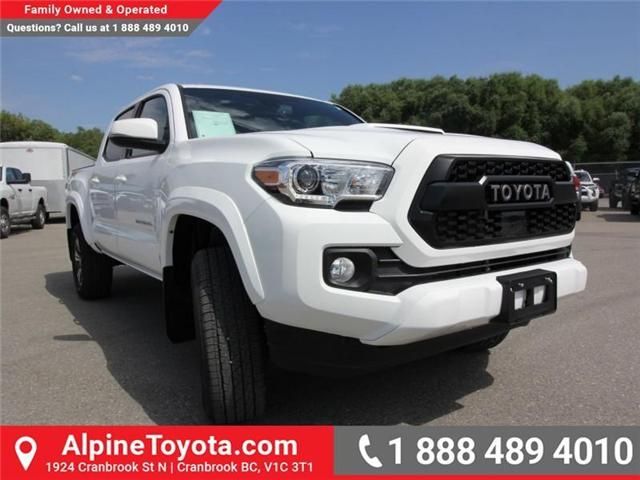 2018 Toyota Tacoma TRD Sport (Stk: X151317) in Cranbrook - Image 6 of 18