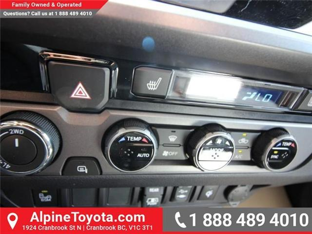 2018 Toyota Tacoma TRD Sport (Stk: X151317) in Cranbrook - Image 13 of 18