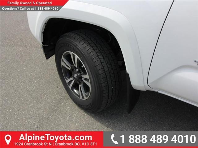 2018 Toyota Tacoma TRD Sport (Stk: X151317) in Cranbrook - Image 18 of 18