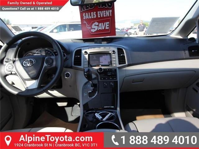2016 Toyota Venza Base V6 (Stk: S836179B) in Cranbrook - Image 8 of 16