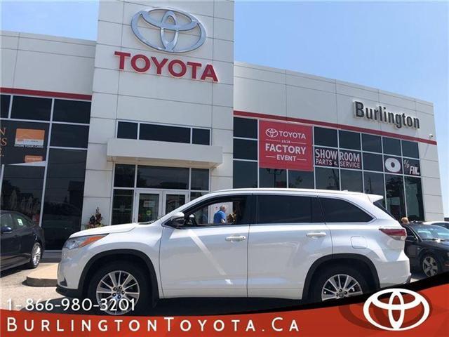 2016 Toyota Highlander XLE (Stk: U10315) in Burlington - Image 1 of 18