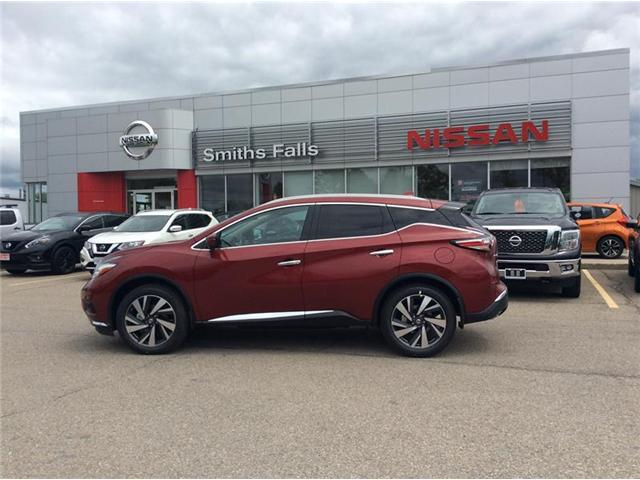 2018 Nissan Murano Platinum (Stk: 18-242) in Smiths Falls - Image 1 of 13