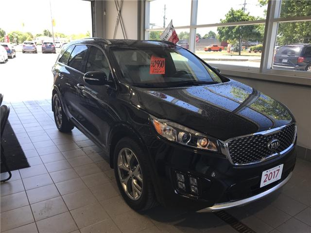 2017 Kia Sorento 3.3L SX+ (Stk: KP0471) in Windsor - Image 1 of 15