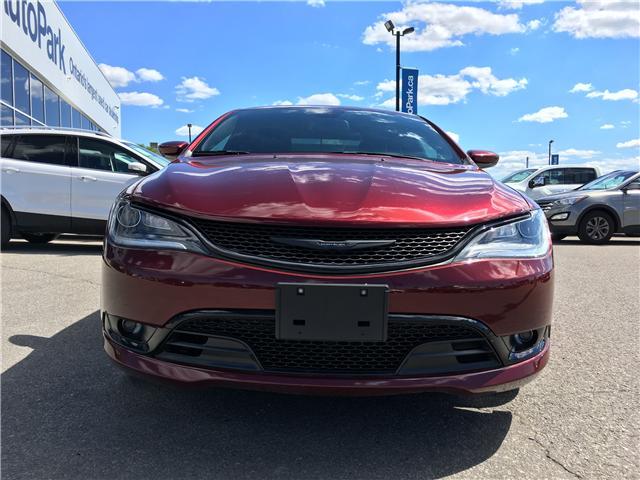 2016 Chrysler 200 S (Stk: 16-80938JB) in Barrie - Image 2 of 28