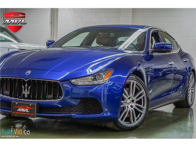 2015 Maserati Ghibli S Q4 (Stk: ) in Oakville - Image 1 of 41