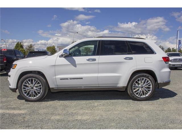 2018 Jeep Grand Cherokee Summit (Stk: J431958) in Abbotsford - Image 4 of 23
