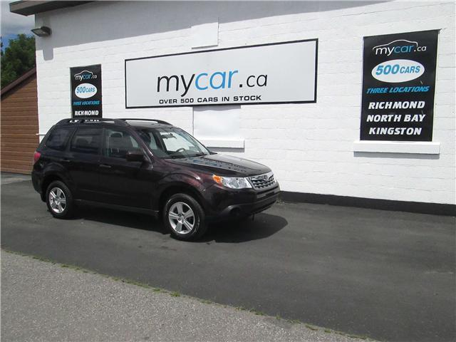 2013 Subaru Forester 2.5X Convenience Package (Stk: 180768) in Richmond - Image 2 of 13
