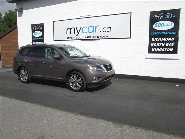 2014 Nissan Pathfinder Platinum (Stk: 180724) in Richmond - Image 2 of 15