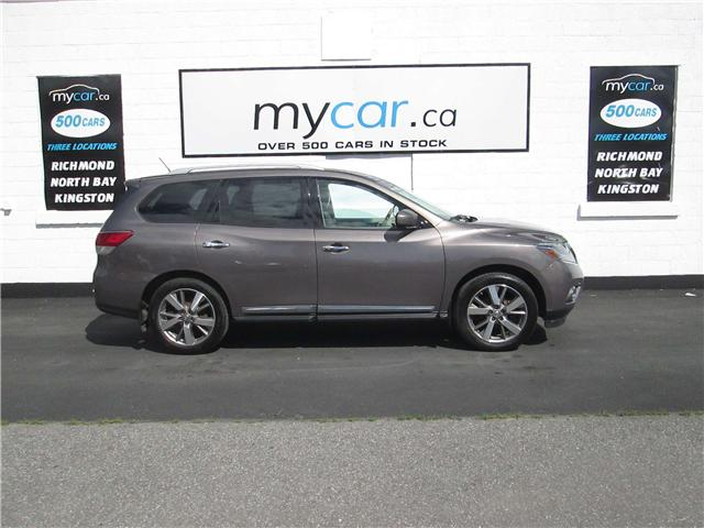 2014 Nissan Pathfinder Platinum (Stk: 180724) in Kingston - Image 1 of 15