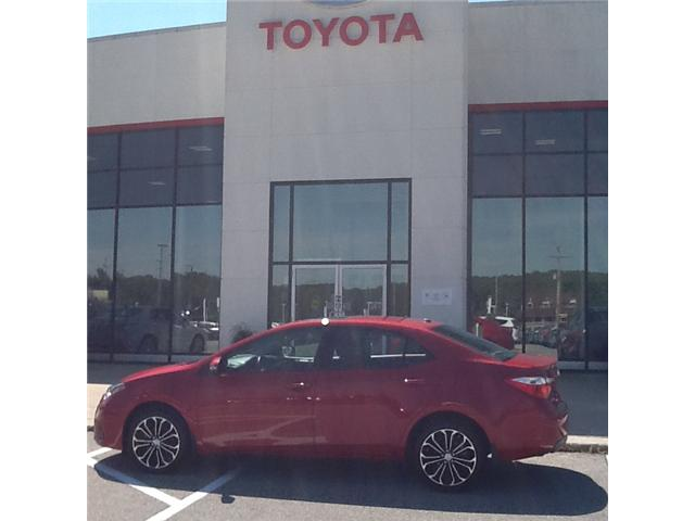 2016 Toyota Corolla S (Stk: ) in Owen Sound - Image 1 of 8