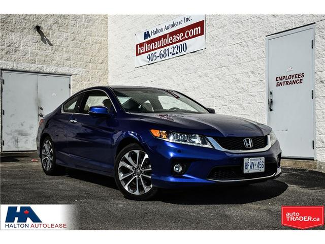 2013 Honda Accord EX-L-NAVI V6 (Stk: 309543) in Burlington - Image 1 of 18