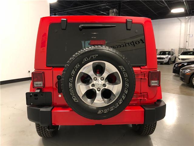 2018 Jeep Wrangler JK Unlimited Sahara (Stk: D9573) in Mississauga - Image 8 of 30