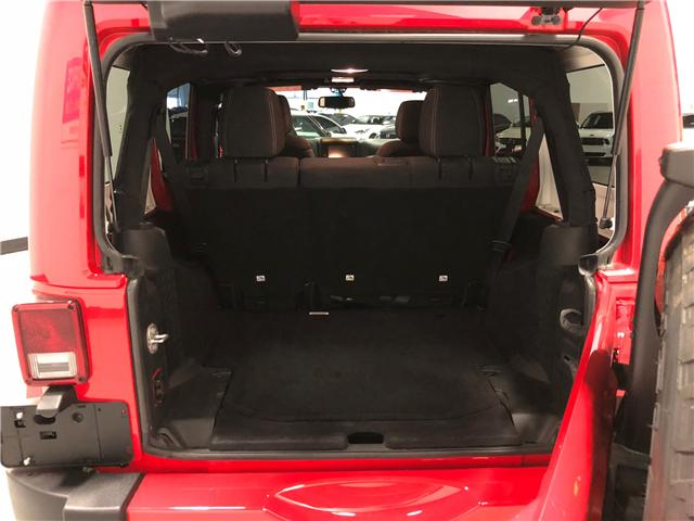 2018 Jeep Wrangler JK Unlimited Sahara (Stk: D9573) in Mississauga - Image 9 of 30